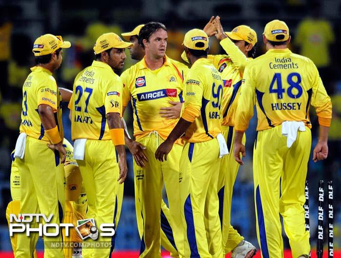 <b>2 </b>No of times Chennai Super Kings have won the tournament. They won 2010 and 2011 editions. Rajasthan Royals (2008) and Deccan Chargers (2009) are the only other sides to win the tournament.
