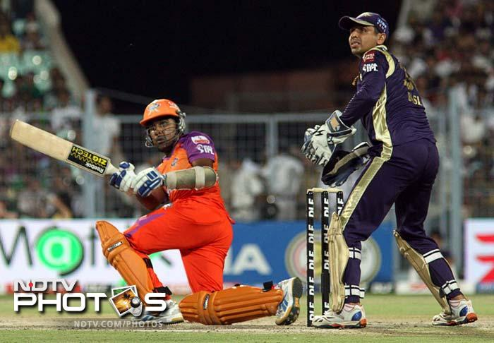 <b>87 </b>Tuskers Kerala's score of 87-2 after 6 overs against Rajasthan Royals at Indore in 2011 is the highest team score in Powerplay overs in IPL.