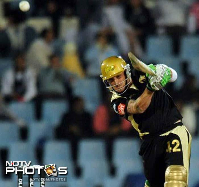 <b>158 </b>Runs scored by Brendon McCullum (for Kolkata Knight Riders against Royal Challengers Bangalore) without being dismissed in the first ever IPL game - is still the highest score by any batsman in tournament's history.