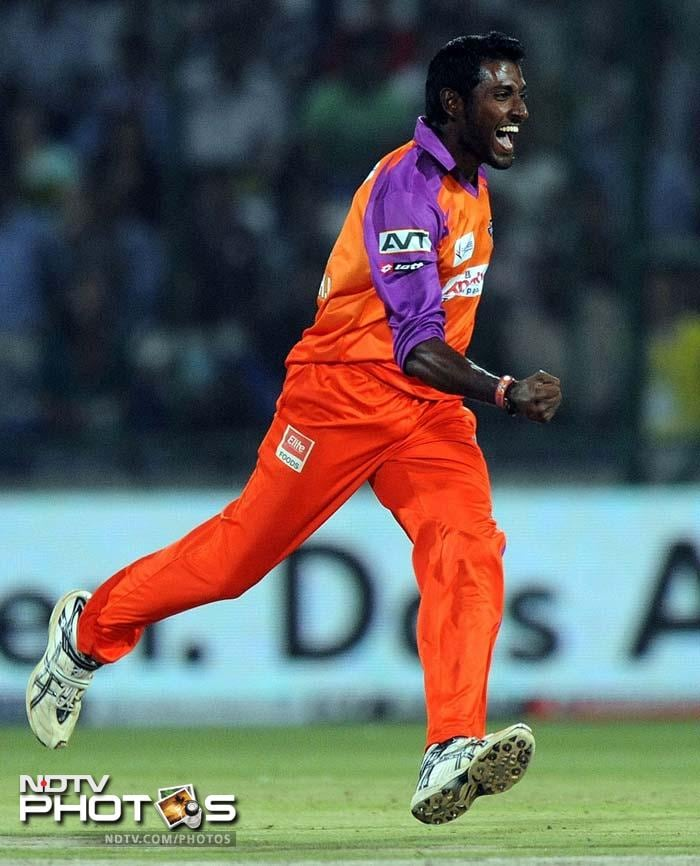 <b>37 </b>No of runs conceded by Kochi Tuskers Kerala's Prasanth Parameswaran against Royal Challengers Bangalore at Bangalore in 2011. Chris Gayle scored 36 of them (with one being extra).