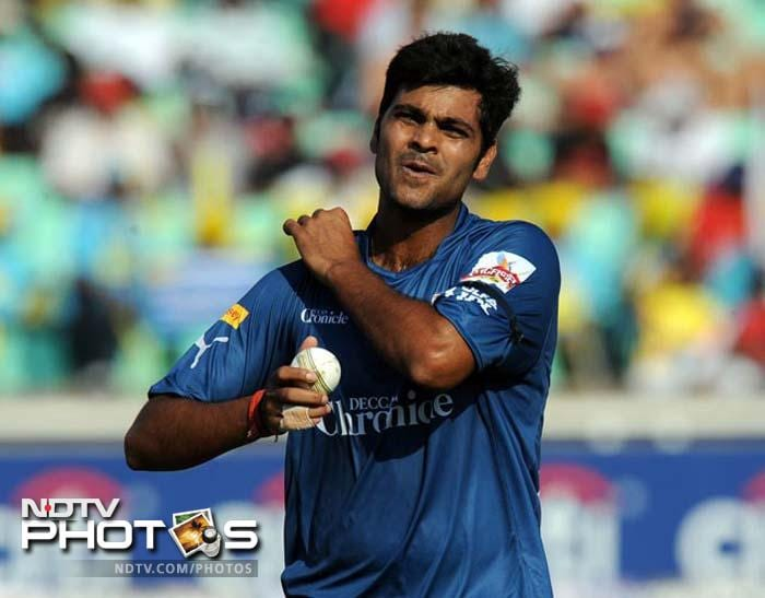 <b>59 </b>Runs conceded by RP Singh and Siddarth Trivedi in a match in 2008 and 2011 respectively-most by any bowler.