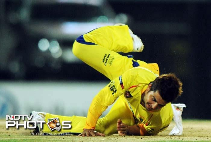 <b>31 </b>No of catches taken by Suresh Raina in the field-the most by any player.