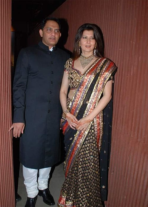 <b>Sangeeta Bijlani and Mohd Azharuddin: </b> Sangeeta Bijlani was called a 'home breaker' for having an affair with India's then most loved captain Mohammed Azharuddin. But the former Miss India and film actress did not cave in. Azhar finally divorced his first wife and married Sangeeta in 1996.