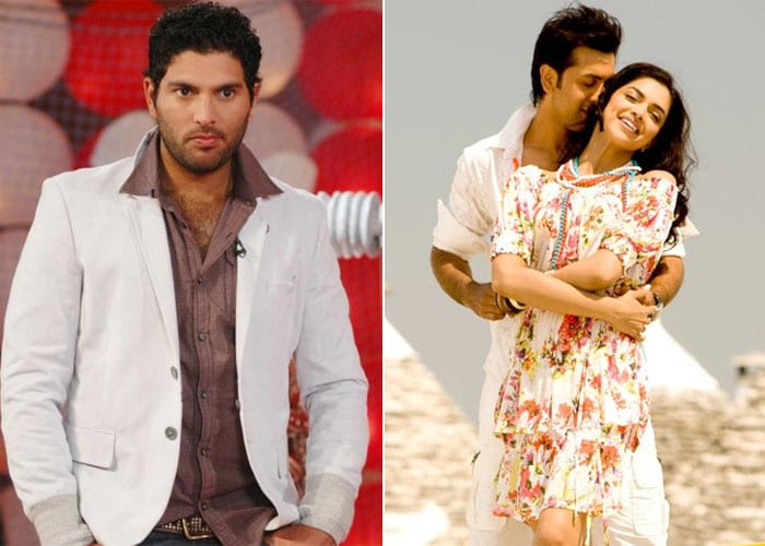 <b>Yuvraj Singh and Deepika Padukone: </b> There were also reports of Yuvraj dating Deepika Padukone. On India's last tour of Australia in 2008, he was seen having a meal with the actress, who was shooting there for her film <i>Bachna Ae Haseeno</i> with Ranbir Kapoor. The relation between the two did not last long as while shooting for the film, Deepika and Ranbir fell in love and rest, as they say, is history.
