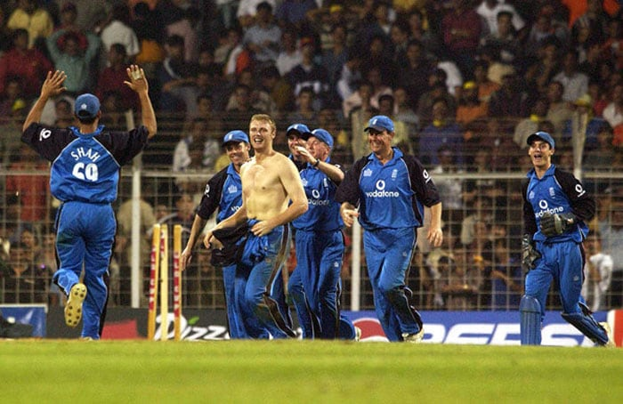 And this is what had instigated Ganguly to do a dare-bare act at the Lord's. Andrew Flintoff had taken off his jersey at the Wankhede Stadium after beating the hosts in February 2002.