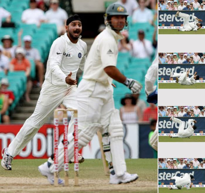 And when we talk about animated celebrations, how can we forget Harbhajan Singh. During the contentious Sydney Test in 2008, in which he was accused of calling Andrew Symonds a 'monkey', Bhajji celebrated Ricky Ponting's wicket in the most symbolic way. Take a look and decide it for yourself.