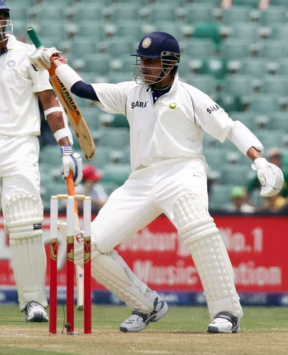 And on this occasion Sreesanth decided to combine his aggression and his dance moves to silent South African pacer Andre Nel. Having being provoked, he hit Nel for a six and ran at the middle of the track swirling his bat like a sword and broke into war dance. That was some sight.
