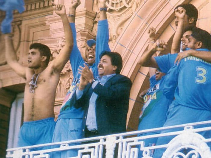 Sourav Ganguly did a Salman Khan after India clinched NatWest Trophy in 2002. Standing in the balcony of the sacrosanct Lord's, Ganguly took off his shirt soon after Zaheer struck the winning run. He swirled his shirt and had some nice words to say for his opponents.
