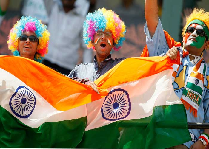 It doesn't get any bigger than India vs Pakistan in the World Cup semifinal. Ahead of the biggest game this season, Indian fans are leaving nothing to chance.