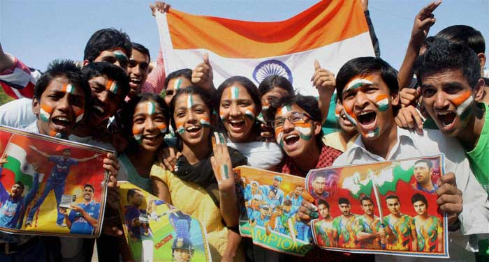 Cricket fever spreads across the nation.