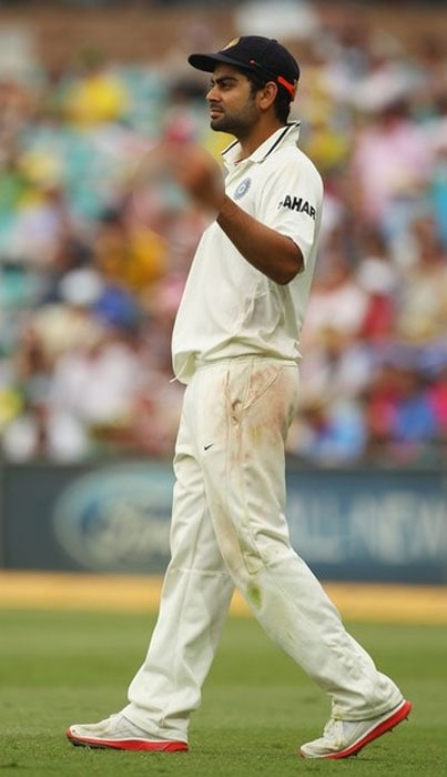 """<b>Virat Kohli:</b> If India's last tour of Australia had monkeygate, this one has finger-gate. India batsman Virat Kohli flipped off the crowd during the Sydney Test. He defended his reaction on Twitter: """"i agree cricketers dont have to retaliate. what when the crowd says the worst things about your mother and sister. the worst ive heard"""". <br><br>Kohli found a sympathiser in Kevin Pietersen, who replied to his tweet thus: """"ha ha ha ha ha!!! Welcome to Australia buddy!!"""" To which Kohli replied: """"never heard crap like that. Ever""""<br><br>Kohli was eventually fined 50% of his match fee."""