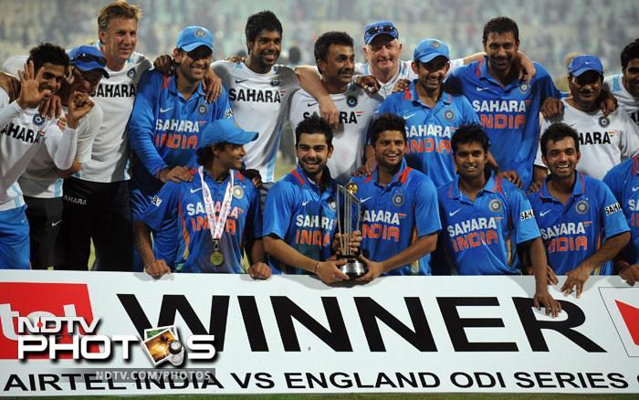<b>India avenge England whitewash:</b> No Indian fan would want to recollect India's tour to England in 2011. A string of injuries to most of the players in the team, uninspiring performance and stupendous show from the hosts, all contributed to the whitewash. Nothing went right for the World Champions and they were outplayed in all formats of the game by the England team. Soon after, India played hosts to Alastair Cook and Co for a five-match ODI series. And MS Dhoni made sure that India at least settled the ODI scores with England who are beaten 5-0.