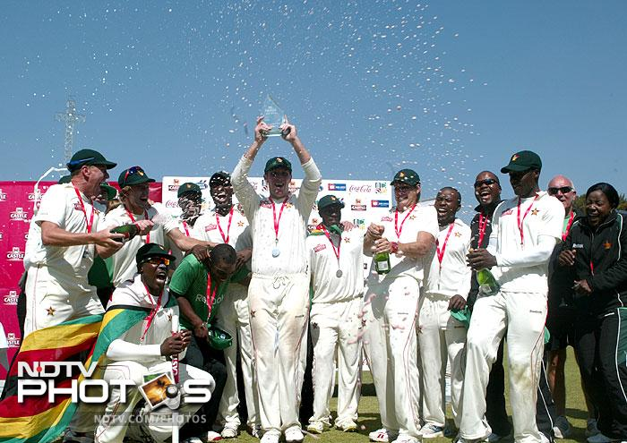 <b>Zimbabwe make a Test return after a six-year exile:</b> Problems have always marred Zimbabwe and the cricket played in the nation. However, even with all their unresolved issues, they have made a successful return to Test cricket after a 6-year ban. Zimbabwe marked their return from the exile by racking up an impressive 264 for two against Bangladesh on the first day of a one-off Test at the Harare Sports Club and went on to win the match on Day 5 by 130 runs.