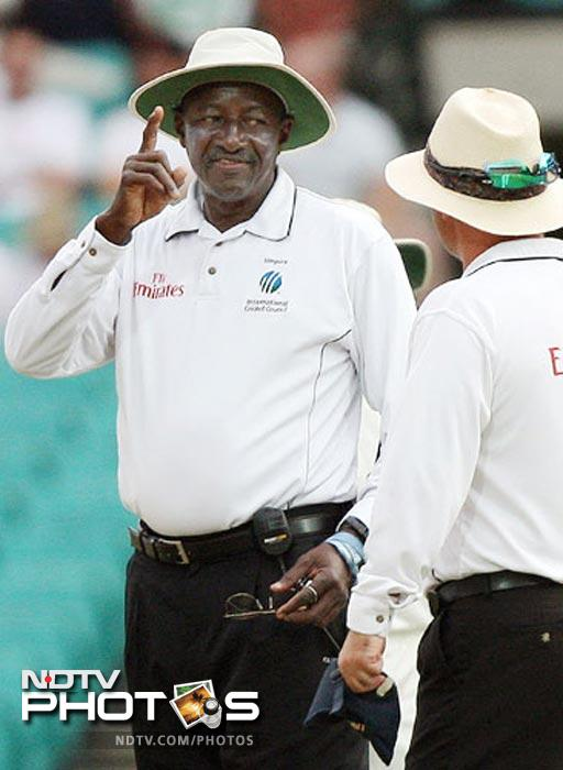 Apart from the Symonds-Bhajji spat, the umpires too had their share out in the sun in the (in)famous Test. Steve Bucknor, whom Ganguly had given a zero rating in his report during the 2003-04 series, continued to fiddle with India's chances and along with Mark Benson gave more than ten wrong decisions against India, which swung the result in Australia's favour. The relations between the two teams touched rock bottom during the series. India won the next Test at Perth and many believed if the umpires had not erred in Sydney, would have won the series.