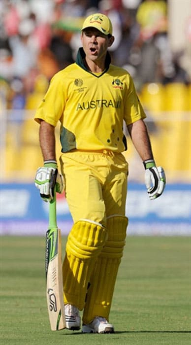 <b>Ricky Ponting:</b> During the recently concluded World Cup, the former Australian skipper smashed an LCD television set in the team's dressing room in Ahmedabad, apparently in a fit of anger, after he got run out against Zimbabwe. He later apologised for his action.