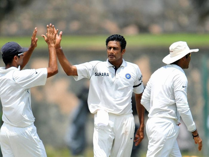 <b>Anil Kumble</b> was christened 'Jumbo' because of the way his deliveries took off with pace and bounce off the pitch -akin to a jumbo jet. (Text Courtesy: <a href='http://www.mid-day.com' target='_blank'>Mid-Day.com</a>)
