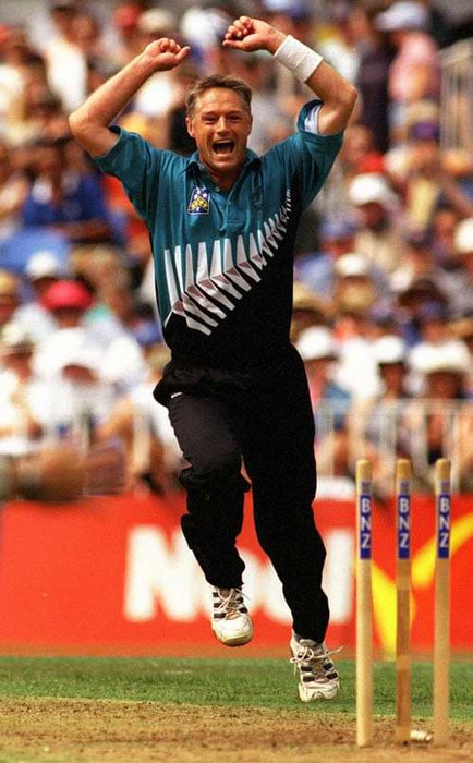 <b>Gavin Larsen</b>, a faithful servant of New Zealand cricket, was nicknamed 'The Postman' by his mates because he always delivered. (Text Courtesy: <a href='http://www.mid-day.com' target='_blank'>Mid-Day.com</a>)