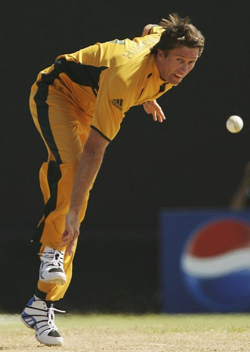 <b>Glenn McGrath</b> stayed a thin fast bowler throughout his career. He was called Pigeon because of his frame especially in the leg area. (Text Courtesy: <a href='http://www.mid-day.com' target='_blank'>Mid-Day.com</a>)