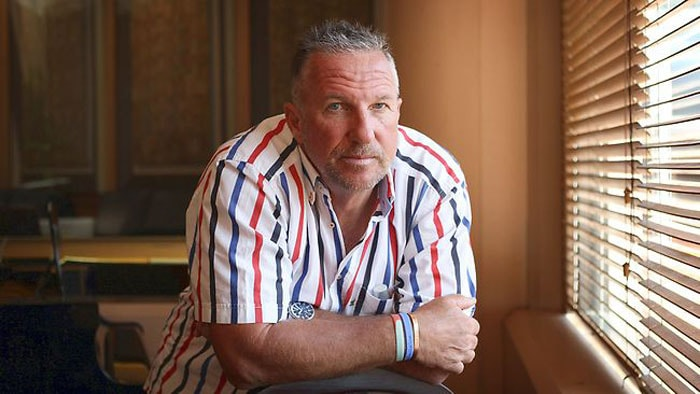 <b>Ian Botham</b> is called Beefy. The answer comes from his frame. Beefy appeared on a range of frozen meat launched in 2001. (Text Courtesy: <a href='http://www.mid-day.com' target='_blank'>Mid-Day.com</a>)