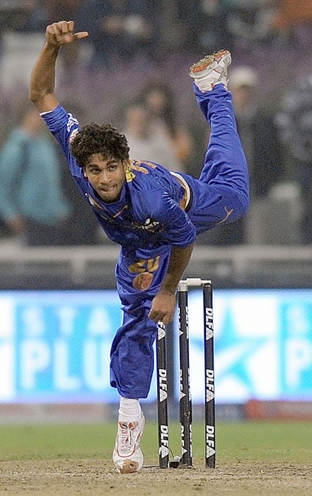 <b>Kamran Khan</b>, the fast bowler, who played for Rajasthan Royals in 2009, was nicknamed 'Tornado' by his captain Shane Warne for his slinging action and pace. (Text Courtesy: <a href='http://www.mid-day.com' target='_blank'>Mid-Day.com</a>)