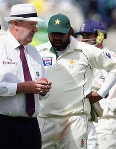 There is no bigger sin in cricket after match-fixing than the act of 'Ball tampering'. For years this issue has cropped up from time time and on every occasion it has left a bad taste in the mouth of cricket officials and players involved.<br><br>Under the laws of cricket, the ball may be polished without the use of an artificial substance, may be dried with a towel if it is wet, and have mud removed from it under supervision; all other actions which alter the condition of the ball are illegal.<br><br>But there have been many instances when cricketers have been caught on camera or later accused for tampering with the seam of the ball or using sharp objects to scuff it. The biggest ball tampering scandal saw the Pakistan team led by Inzamam-ul-Haq walk off the pitch during a Test match against England at the Oval.<br><br>Pakistani bowlers have been accused of tampering from time to time. There was a big hue and cry in India after Sachin Tendulkar was reprimanded by match referee Mike Dennes for alleged tampering.<br><br>But irrespective of so many instances, the ICC is yet to come out with a flawless rule that could eradicate this evil.<br><br><a href='http://cricket.ndtv.com/talkingPicture.aspx?id=6742'>Ball tampering: A saga that refuses to end</a>