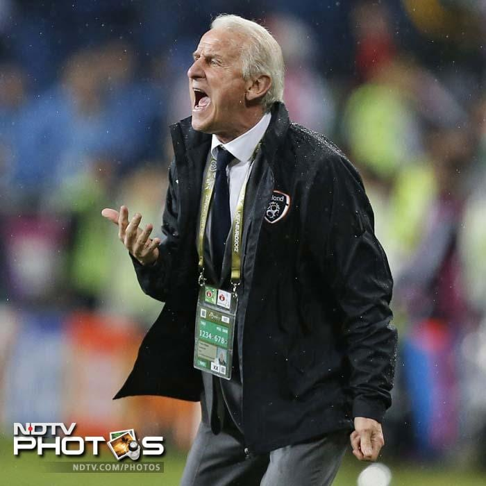 Ireland coach Giovanni Trapattoni will not be a happy man and the road ahead for his team gets even tougher.