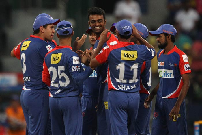 Jaydev Unadkat was the pick of Delhi Daredevils bowlers. He bagged three wickets.