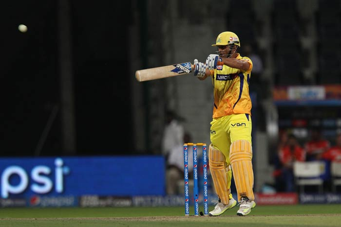 Towards the end, skipper MS Dhoni used his long handle to great effect to race his way to 32 off just 15 balls with the help of two fours and as many sixes. Faf du Plesis also made a useful 24 off 17 balls.