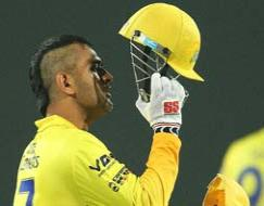 Photo : CLT20: Chennai Super Kings beat Titans at MS Dhoni's home