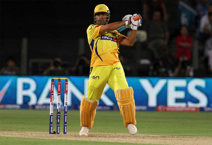 Badrinath (34 off 31) was replaced by MS Dhoni who smashed his way to a 16-ball unbeaten 45. (BCCI image)