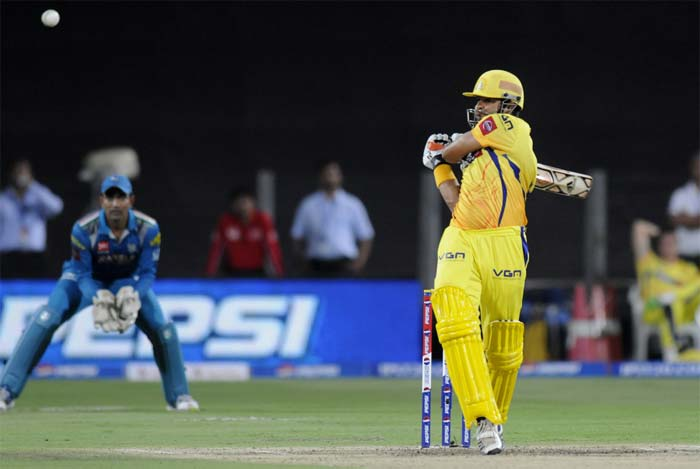 Suresh Raina though anchored himself in and kept the runs flowing. He was supported well by S Badrinath. (BCCI image)