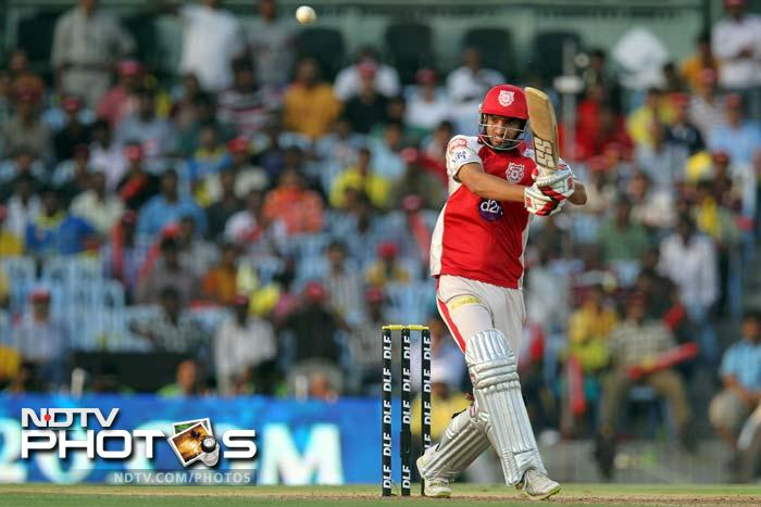 Bowlers were largely on top at the Chepauk as Kings XI Punjab downed Chennai Super Kings by 7 runs to register a crucial win. A look at some of the highlights from the match. (SESHADRI SUKUMAR / AFP)