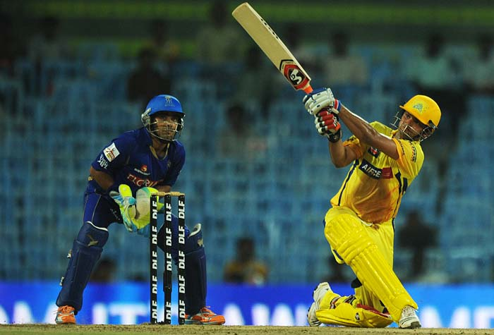 Raina went on to score 61 from 51 balls and though he was dismissed eventually, it was all too late as Chennai cruised to an 8-wicket win with an over and a half to spare.