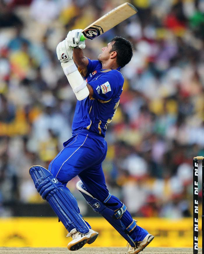 Dravid was too eventually removed but not before he had helped himself to a fluent 66 of 51 balls with ten boundaries.