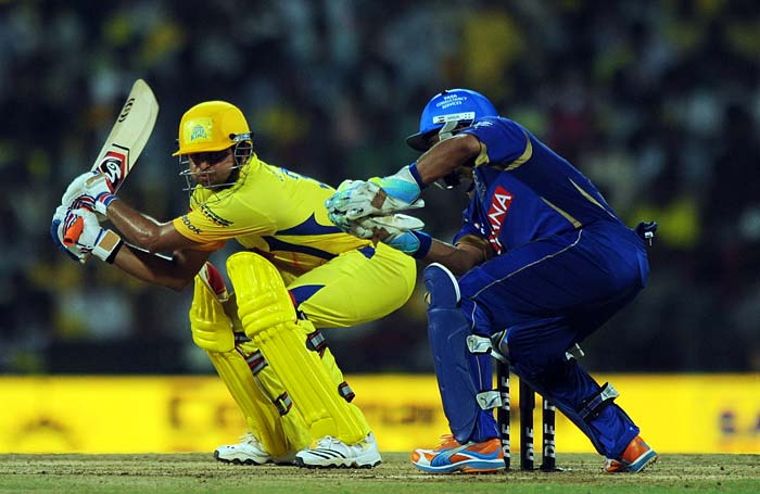 Raina too played all across the field as Warne's strategy of using spin as well as pace to varying measures bore no result for the visitors.