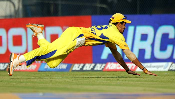 The Chennai Super Kings though kept the pressure up, fielded well and claimed wickets at the other end with regularity.