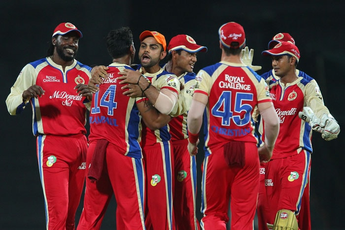 Bangalore seemed right on top at this stage with the bowlers firing on all cylinders. (BCCI Image)