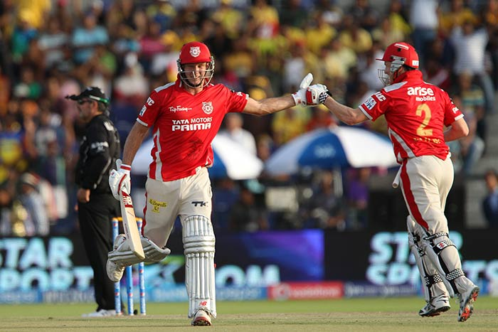Miller and Bailey made a mockery of such a big total, chasing it down with seven balls to spare. (Image courtesy: BCCI)