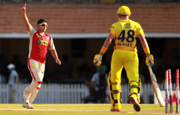 But he was stumped off Chawla and Dhoni's run-out an over later meant Chennai were under pressure. (Image credit BCCI)