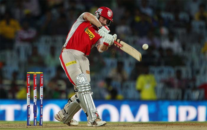 Shaun Marsh took over after David Hussey fell for 22 and hit 73 runs. (Image credit BCCI)