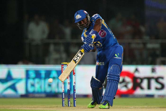 Dwayne Smith tore into Chennai's bowling in the powerplay overs with a 28-ball 68. (BCCI Image)