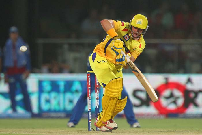 Michael Hussey proved once again that age is just a number with an unbeaten 86 from 58 balls during which he overtook Chris Gayle to claim the orange cap as the highest run-getter in this edition. (BCCI Image)
