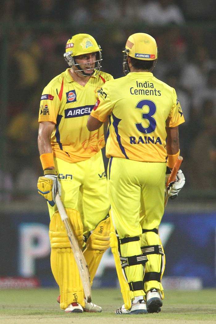 The pair added 140 runs for the second wicket and that took Chennai through to 192/1 in their 20 overs. (BCCI Image)