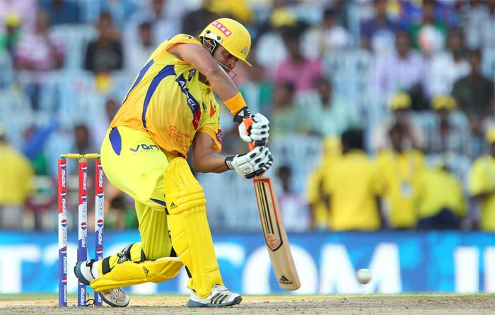He played equally well in the air and on the ground to reach his fifty from 32 balls. (Image credit BCCI)
