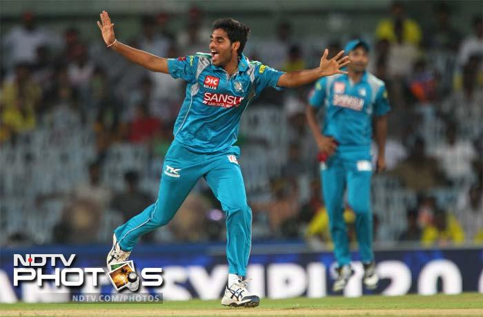 Bhuvneshwar Kumar bowled extremely well to bag 2 wickets for 12 runs. (BCCI image)