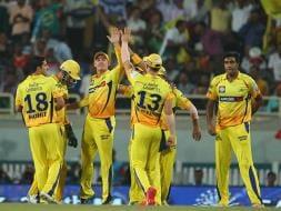 Photo : IPL 8: Chennai Edge Past Bangalore to Enter Record Sixth Final