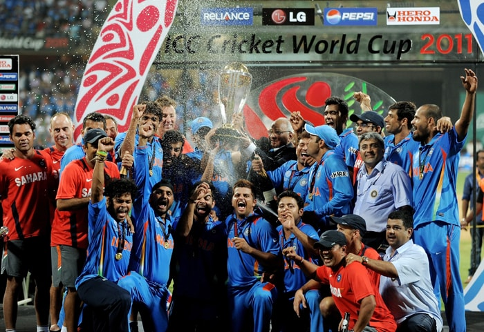 Team India waited for 28 long years to get it's hand on the coveted 'Cup of Joy' but it was the Master Blaster's wait of 20 years that drove Dhoni's men to give in their best and win the Cricket World Cup 2011 Championship. One year on, here's taking a look back at the historic moment.