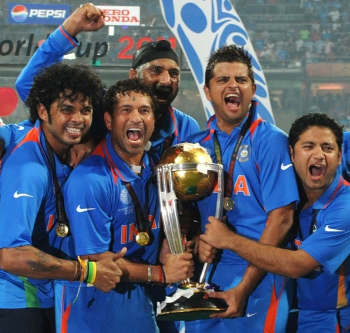 The young force in the team was been a great anchor and played a pivotal role in clinching the victory.