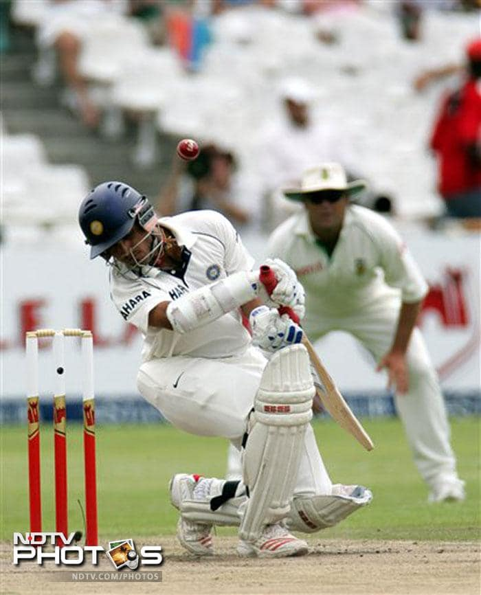 <b>The short-age</b><br><br> His rift with short pitch stuff was not a secret. He ducked at almost everything until the bowler would be forced to target the stumps, where he was one of the best in the business.