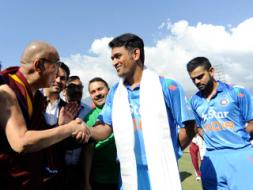 Cricketers' Day Out With Dalai Lama